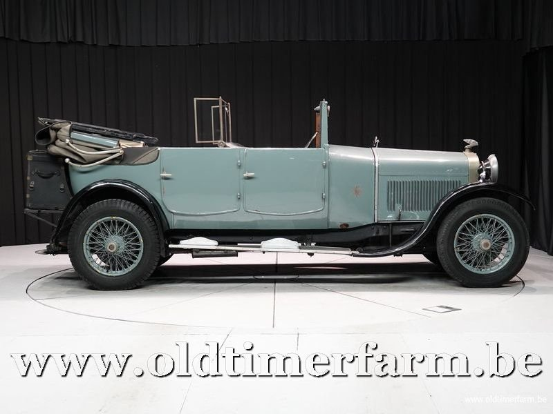 1926 Delage DI Transformable 11Cv 4 Cyl. '26 For Sale (picture 3 of 6)