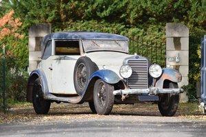 1929 Delage DMN Faux-Cabriolet par Autobineau No reserve