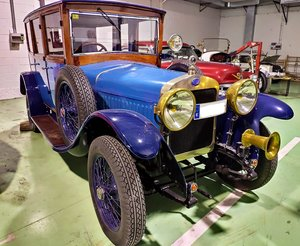 RHD - Delage Di 7 seats - hard top - 2 owners