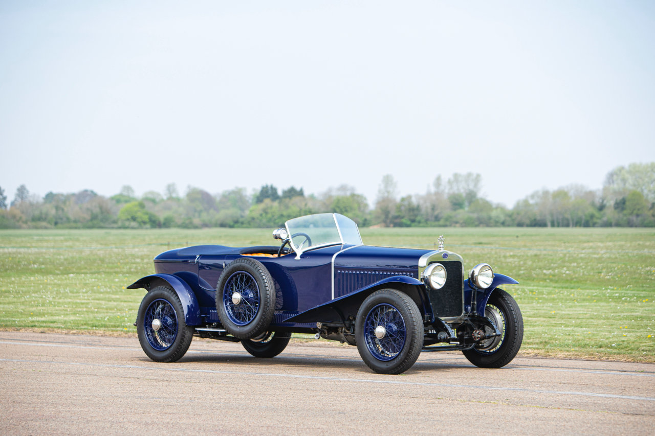 1922 DELAGE CO2 4½-LITRE SIX-CYLINDER OHV DUAL COWL TOURER For Sale (picture 1 of 6)
