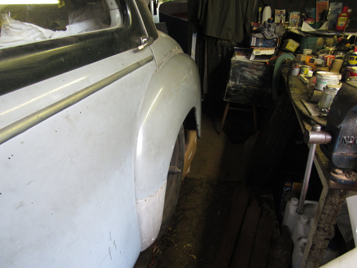1950 Delage Restoration Opportunity SOLD (picture 3 of 6)