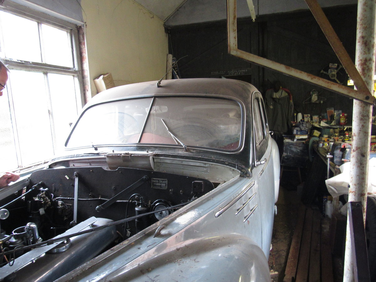 1950 Delage Restoration Opportunity SOLD (picture 5 of 6)
