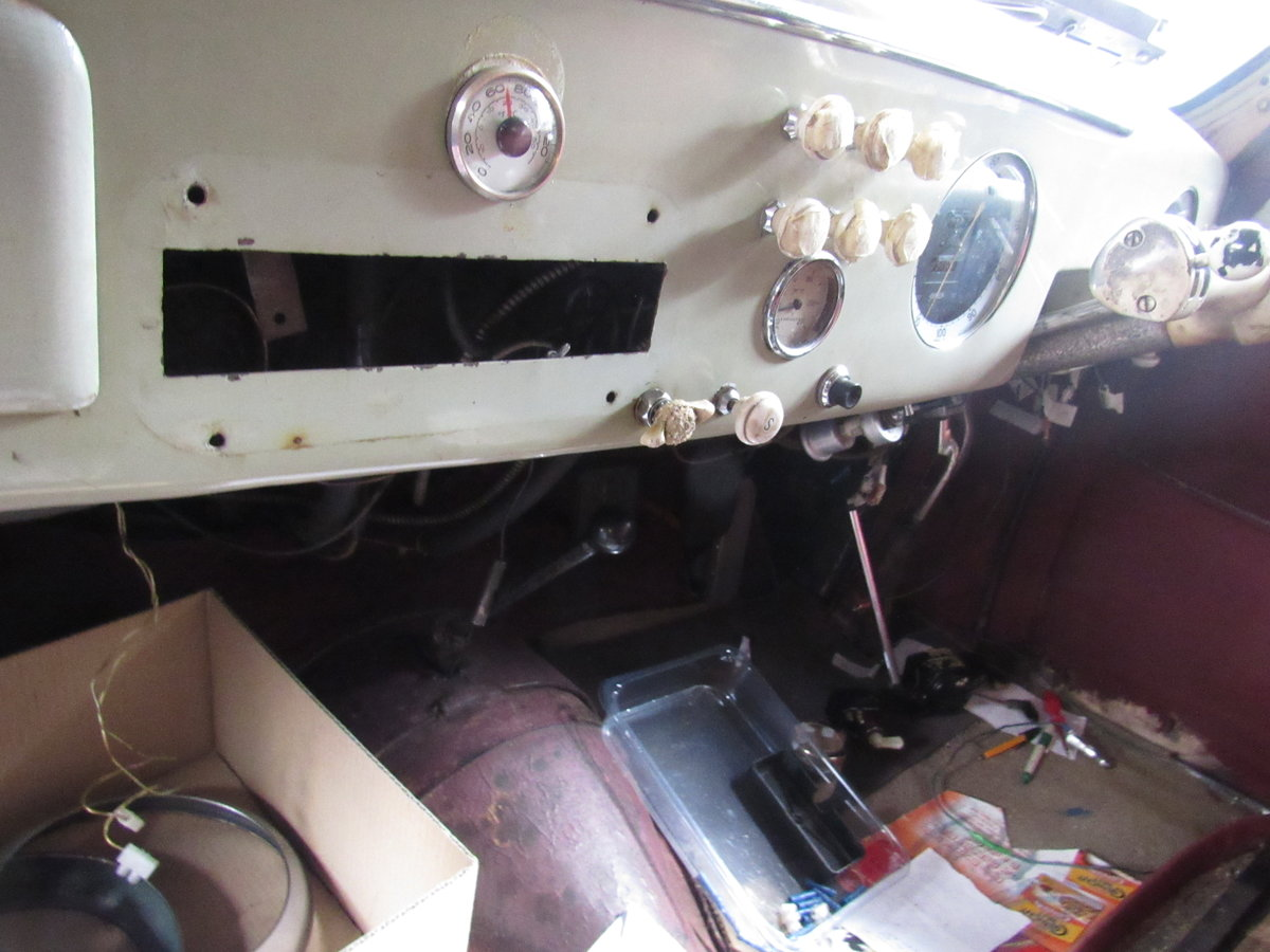 1950 Delage Restoration Opportunity SOLD (picture 6 of 6)
