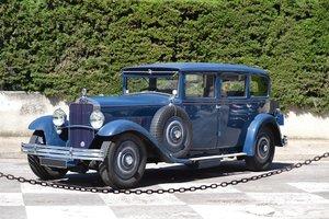 1931 Delage D8L Limousine par Vanvooren