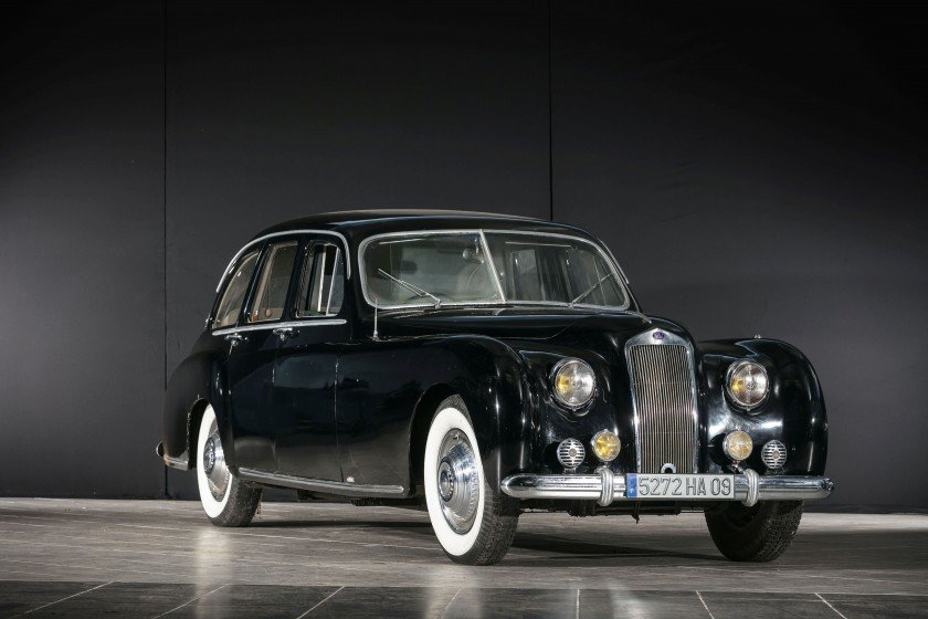 1952 Delage D6 3L limousine par Guilloré - No reserve For Sale by Auction (picture 1 of 6)