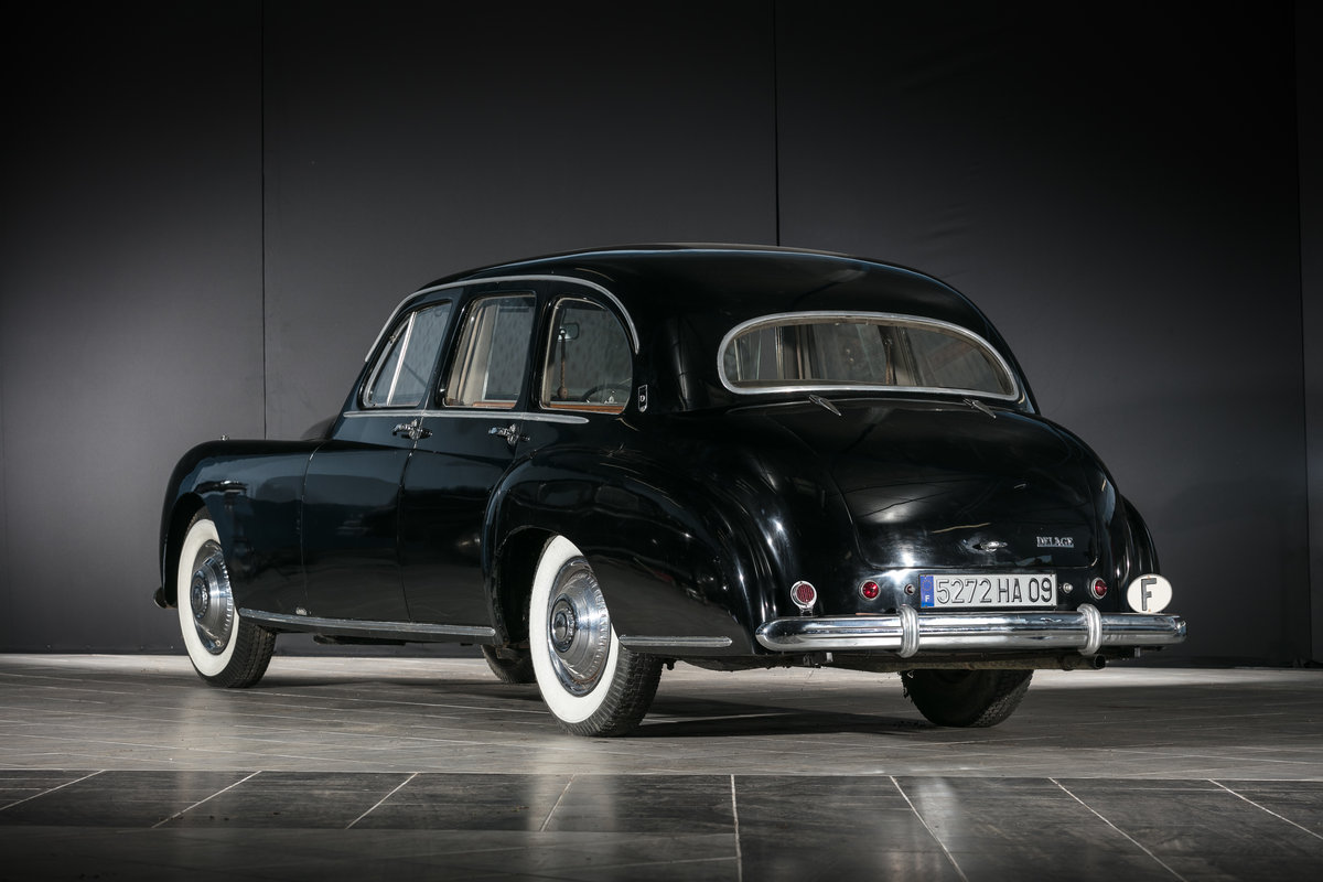 1952 Delage D6 3L limousine par Guilloré - No reserve For Sale by Auction (picture 2 of 6)