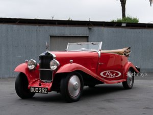 1933 Delage D815 S Cabriolet
