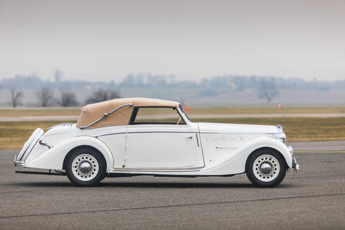 1937 Delage D6-70 - Cabriolet by Henri Chapron For Sale (picture 1 of 6)