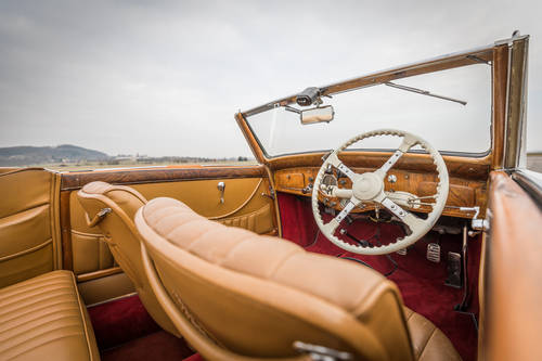 1937 Delage D6-70 - Cabriolet by Henri Chapron For Sale (picture 4 of 6)