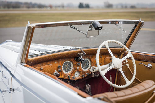 1937 Delage D6-70 - Cabriolet by Henri Chapron For Sale (picture 5 of 6)