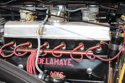 1947 Delahaye 135 MS RHD For Sale (picture 4 of 6)