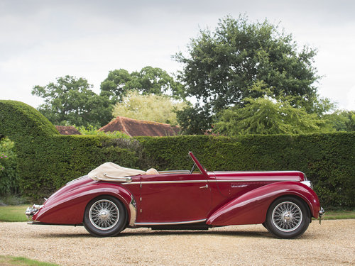 1948 Delahaye 135M. Very Rare Three Position Drophead Coupé For Sale (picture 1 of 6)
