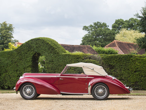 1948 Delahaye 135M. Very Rare Three Position Drophead Coupé For Sale (picture 2 of 6)