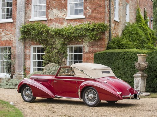 1948 Delahaye 135M. Very Rare Three Position Drophead Coupé For Sale (picture 4 of 6)