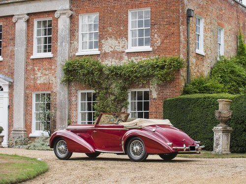 1948 Delahaye 135M. Very Rare Three Position Drophead Coupé For Sale (picture 6 of 6)