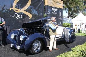 1936 Rare Figoni-Falaschi Delahaye 135 Competition Conv For Sale