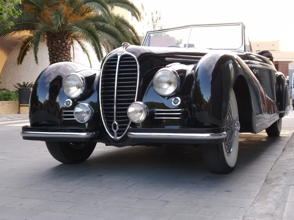 1947 Delahaye 135 M Cabriolet By Guillore For Sale (picture 1 of 6)