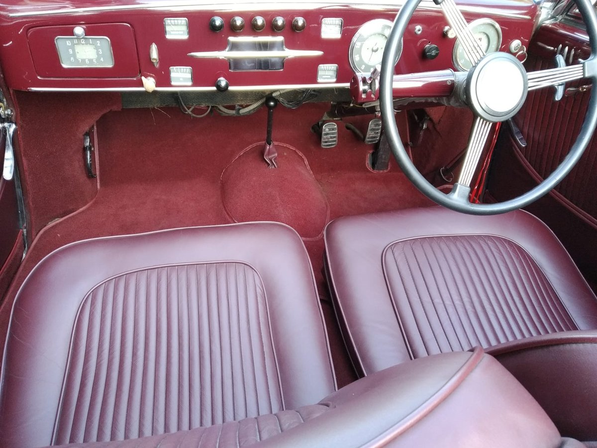 1947 Delahaye 135 M Cabriolet By Guillore For Sale (picture 3 of 6)