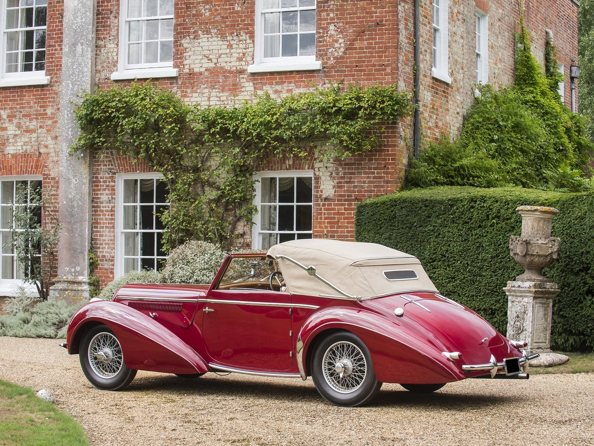 1948 Delahaye 135M. Very Rare Three Position Drophead Coupé For Sale (picture 3 of 6)