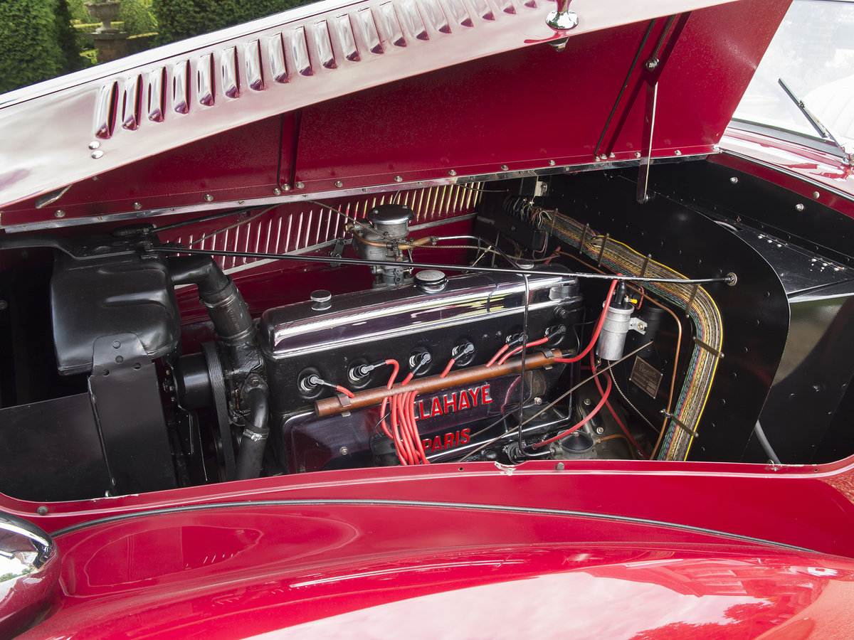 1948 Delahaye 135M. Very Rare Three Position Drophead Coupé For Sale (picture 5 of 6)