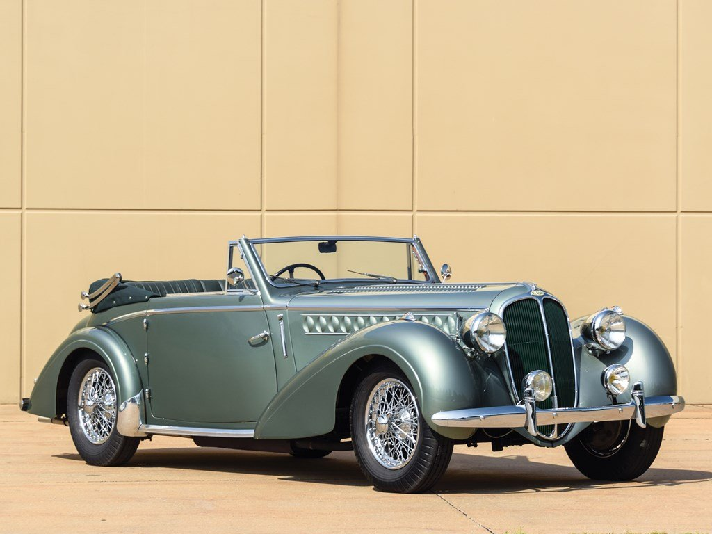 1947 Delahaye 135 M Cabriolet by Chapron For Sale by Auction (picture 1 of 6)
