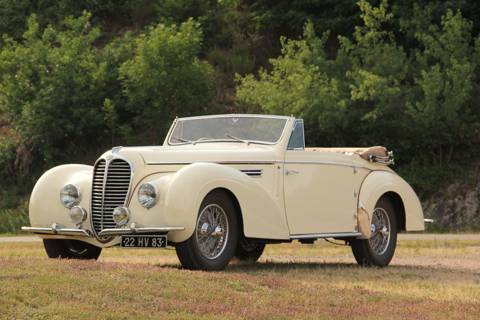 1948 Delahaye 135M Cabriolet by Henri Chapron For Sale by Auction (picture 1 of 6)