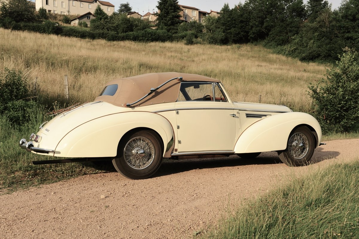 1948 Delahaye 135M Cabriolet by Henri Chapron For Sale by Auction (picture 5 of 6)