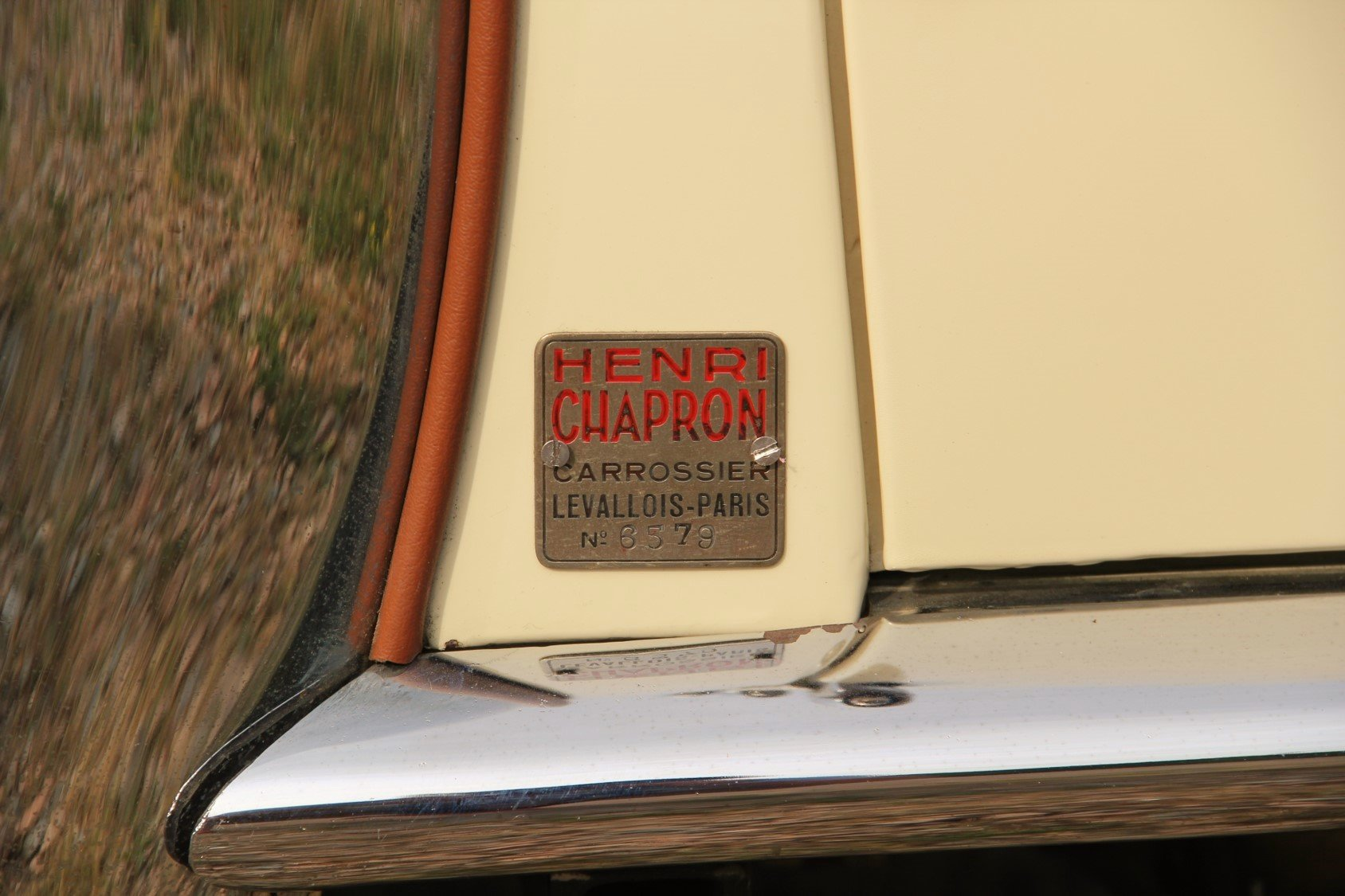 1948 Delahaye 135M Cabriolet by Henri Chapron For Sale by Auction (picture 6 of 6)