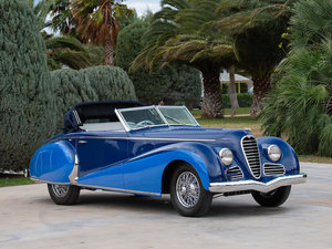 1947 DELAHAYE TYPE 135 M DROPHEAD COUPÉ For Sale by Auction