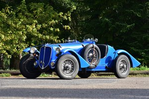 1937 Delahaye 135M Biplace course reconstruction par Blasque