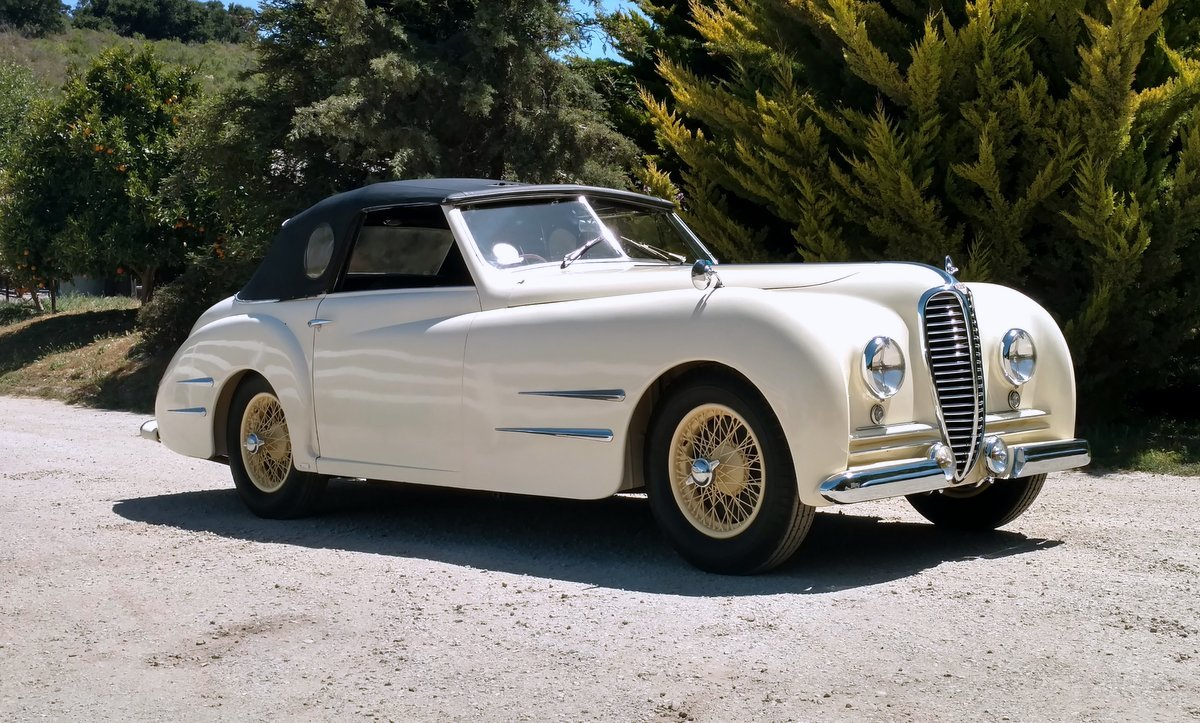 1949 Delahaye Type 135M Cabriolet by Franay #22031 For Sale (picture 1 of 6)