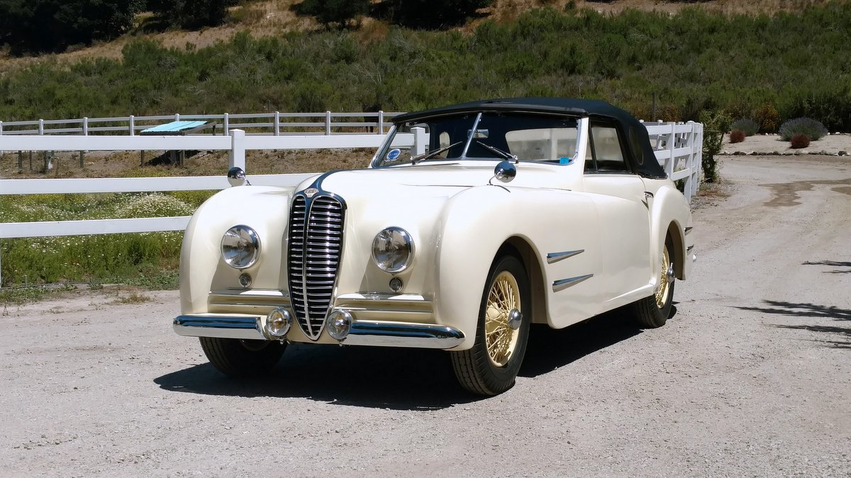 1949 Delahaye Type 135M Cabriolet by Franay #22031 For Sale (picture 2 of 6)