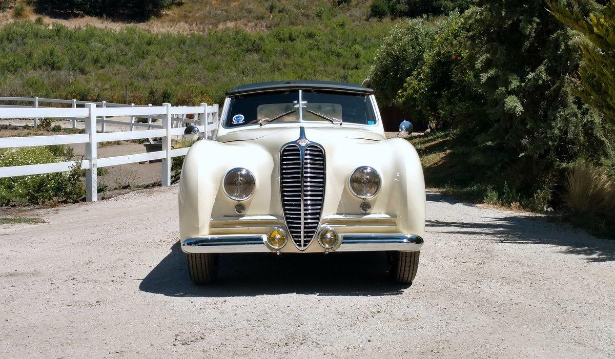 1949 Delahaye Type 135M Cabriolet by Franay #22031 For Sale (picture 3 of 6)