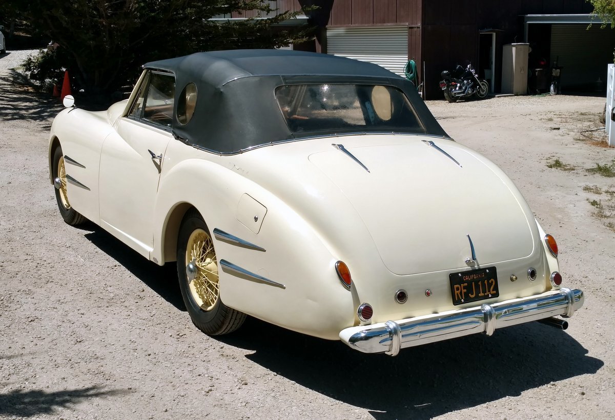 1949 Delahaye Type 135M Cabriolet by Franay #22031 For Sale (picture 4 of 6)