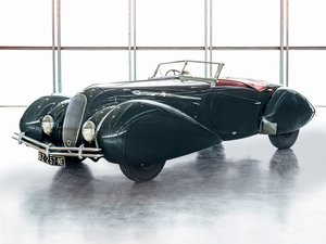 1939 Delahaye 135 Roadster in the style of Figoni et Falasch For Sale by Auction