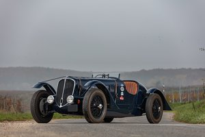 1936 Delahaye 135 Spécial roadster biplace