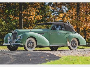 1949 Delahaye 135M Cabriolet by Chapron