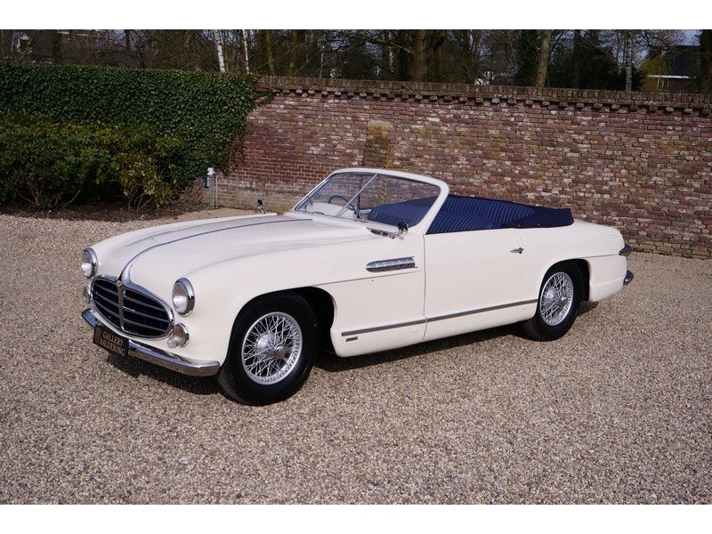 1952 Delahaye 235 Convertible by Antem ,Unique one-off cabriolet  For Sale (picture 1 of 6)
