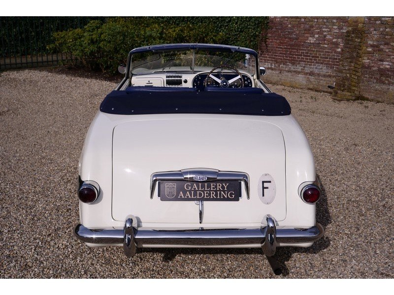 1952 Delahaye 235 Convertible by Antem ,Unique one-off cabriolet  For Sale (picture 6 of 6)