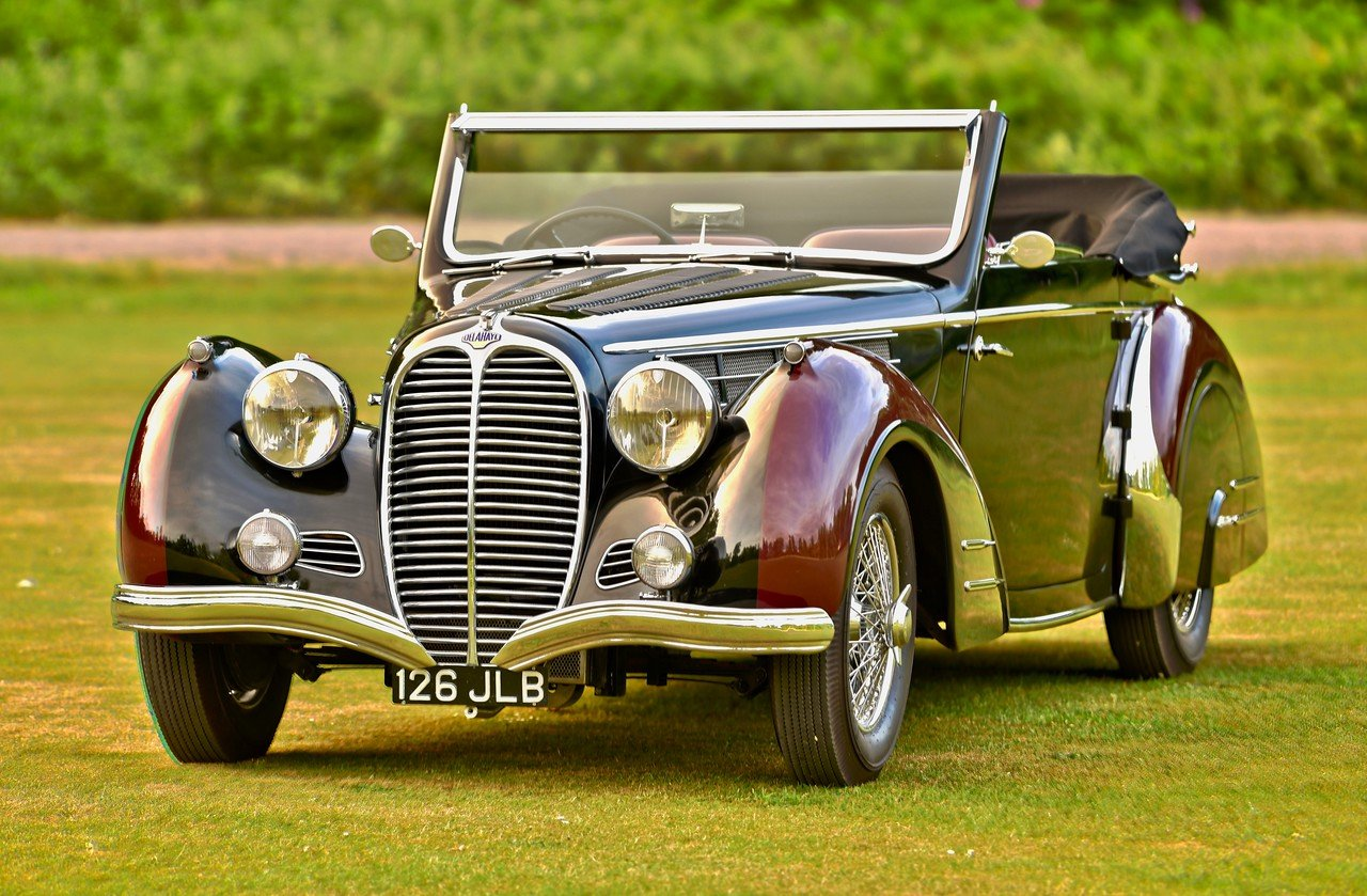 1948 Delahaye 135M 3 position drophead by Pennock For Sale (picture 1 of 6)