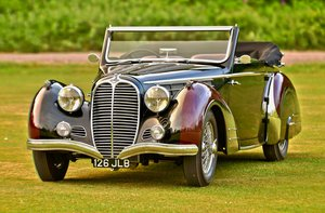 Picture of 1948 Delahaye 135M 3 position drophead by Pennock