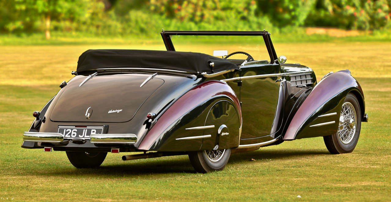 1948 Delahaye 135M 3 position drophead by Pennock For Sale (picture 2 of 6)