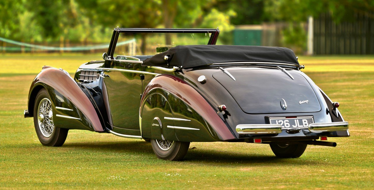 1948 Delahaye 135M 3 position drophead by Pennock For Sale (picture 3 of 6)