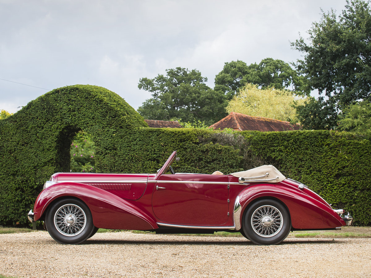 1948 Delahaye 135M 3 Position Drophead For Sale (picture 1 of 6)