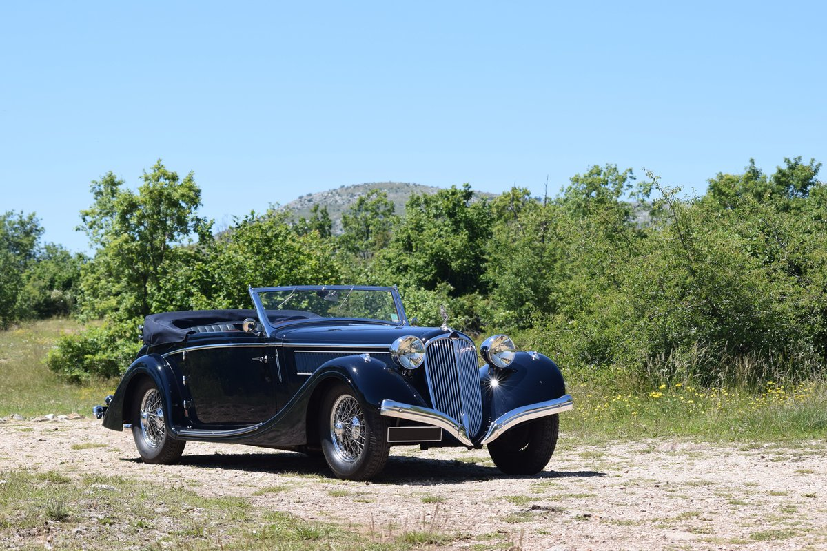 1936 Delahaye 135 Coupe des Alpes Cabriolet Mylord Henri Chapron For Sale (picture 1 of 6)