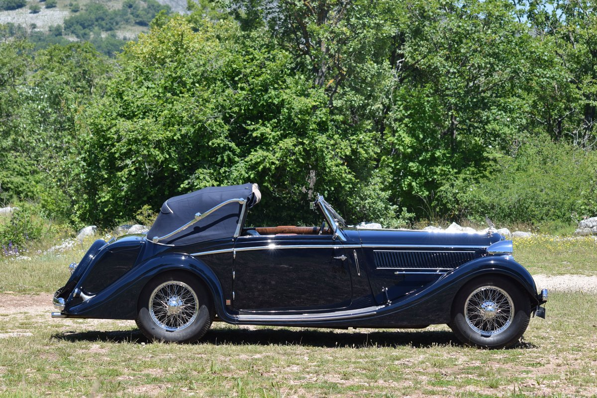 1936 Delahaye 135 Coupe des Alpes Cabriolet Mylord Henri Chapron For Sale (picture 6 of 6)
