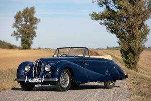 1950 Delahaye 135 M cabriolet Estérel - No reserve For Sale by Auction