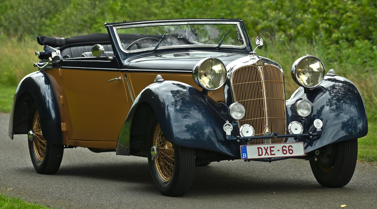 1937 Delahaye 135M Competition Drophead Coupé by Abbey Coach For Sale (picture 1 of 6)