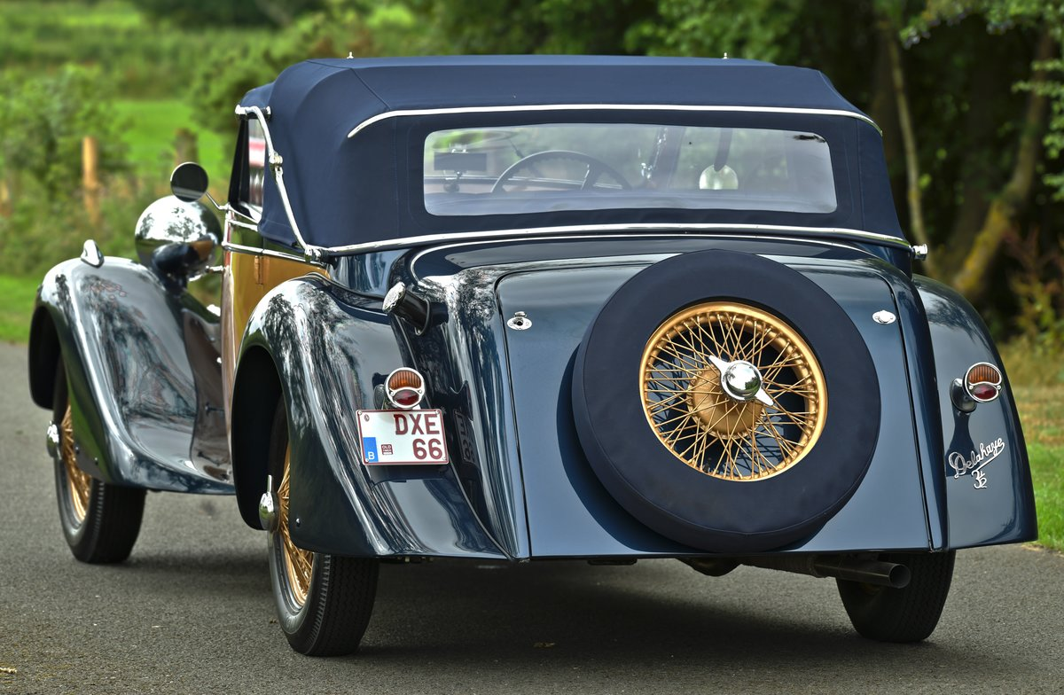 1937 Delahaye 135M Competition Drophead Coupé by Abbey Coach For Sale (picture 2 of 6)