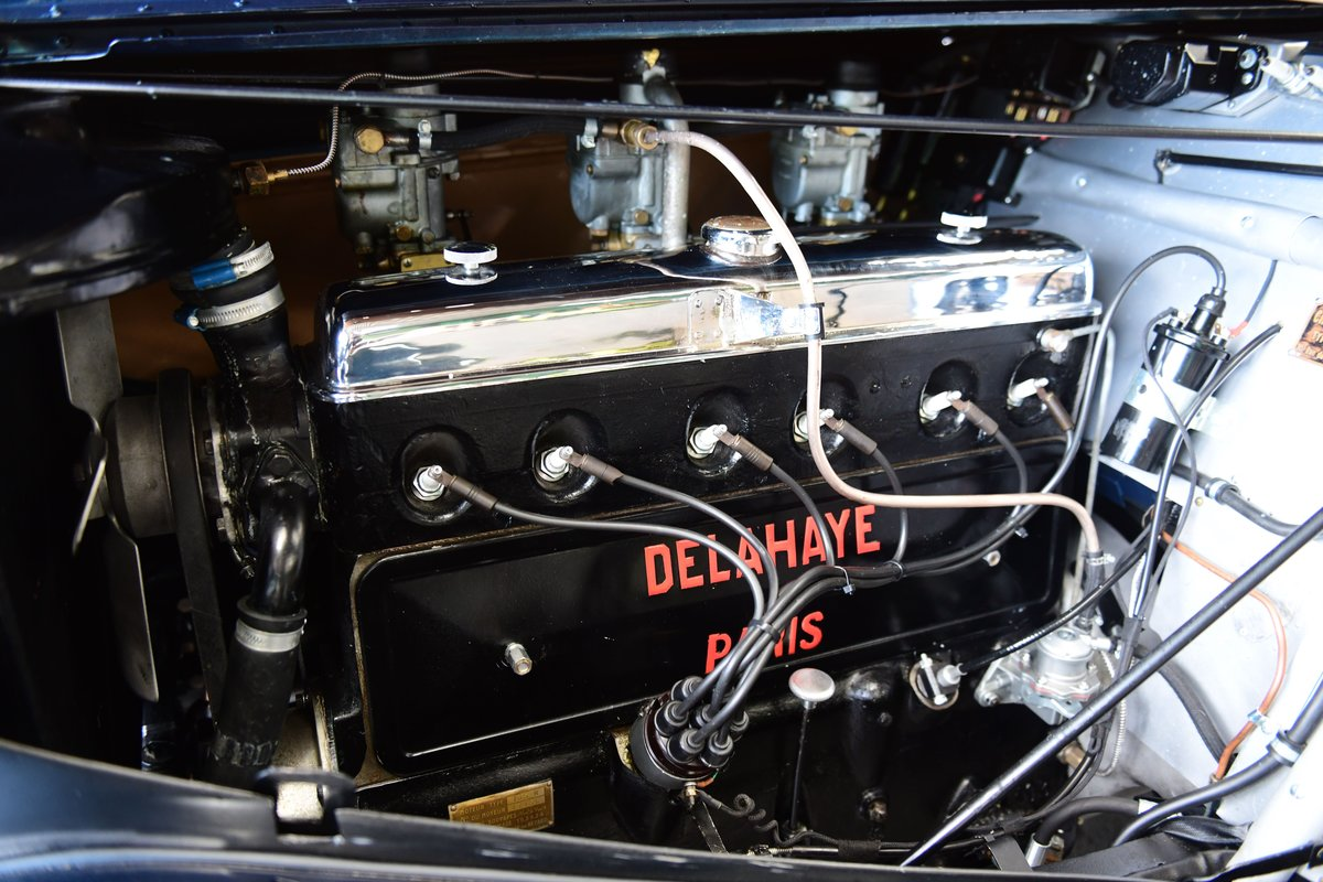 1937 Delahaye 135M Competition Drophead Coupé by Abbey Coach For Sale (picture 3 of 6)
